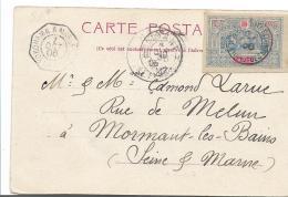 FAF136 / Äthiopien, Obock 1900 Auf Bildkarte - Lettres & Documents