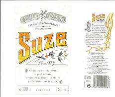 Etiquette De SUZE 100cl - Otros