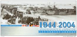 """Souvenir Philatélique 1er Jour De 2004 """"  LES FORCES ARMEES DE LA LIBERATION / DE GAULLE """" N° YT 3675. FDC - De Gaulle (General)"""