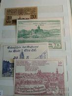 4 Notgeld Heller Vari Valori 1920  N. 236 - Austria