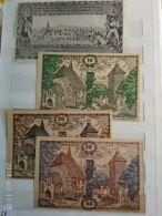 4 Notgeld Heller Vari Valori 1920  N. 252 - Austria
