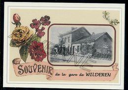 WILDEREN  ...... La  Gare Souvenir Creation Moderne ... Serie Limitee - Belgique