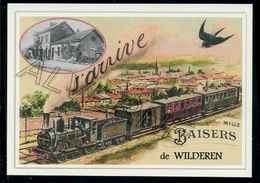 WILDEREN  ......train Souvenir Creation Moderne ... Serie Limitee - Belgique