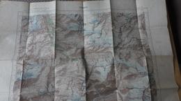 TIGNES VAL D'ISERE NANTCRUET LA SAVINE RONNE VILLARET DU NIAL LE CHEVRIL LES BREVIERES LE BIOLLET LE JOSERAY - Topographical Maps
