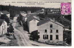 Sembadel - Vue Générale, Ligne De Chemin De Fer, Café Marcel - Otros Municipios