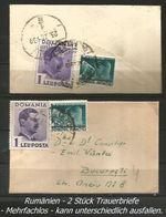 2 Trauerbriefe Von 1939 - 1937-52 George VI