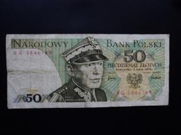 POLOGNE : 50 ZLOTYCH  9.5.1975  P 142a    TTB - Poland