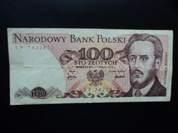 POLOGNE : 100 ZLOTYCH  17.5.1976   P 143b    TTB - Poland