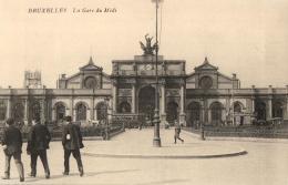 BELGIQUE - BRUXELLES - Gare Du Midi - 2 Cartes Postales. - Chemins De Fer, Gares
