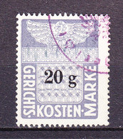 Oesterreich, Gerichtskostenmarke, 20 Groschen (49076) - Gebührenstempel, Impoststempel
