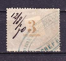 Norddeutscher Wechselstempel, Drei Groschen (49080) - Gebührenstempel, Impoststempel