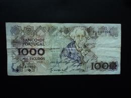 PORTUGAL : 1000 ESCUDOS  9.11.1989   P 181f    TTB+ - Portugal
