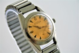Watches : PRONTO VERDAL TROPIC DAIL TOUR DE FRANCE RaRe AUTOMATIC  WITH FIXOFLEX - Original - Running - 1950s - Watches: Top-of-the-Line