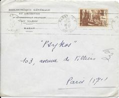 LOT 1804027 - MAROC LETTRE DE RABAT DU 21 MAI 1940 POUR PARIS - Marokko (1891-1956)