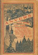 ANVERS-ANTWERPEN - Guide Brabo Avec Plan Monumental, Indicateur Des Rues De La Ville Et Faubourgs D'Anvers - Technical Plans