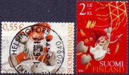 FINLAND 2011 Kerstzegels GB-USED - Finlande