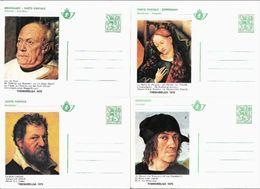 THEMABELGA 1975 - Lot De 8 Cartes Postales - Série Complète - Entiers Postaux