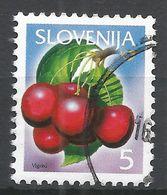 Slovenia 2005. Scott #631 (U) Fruits, Cherries * - Slovénie