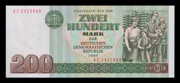 # # # Banknote DDR (Eastgermany GDR) 200 Mark 1985 UNC # # # - 200 Mark