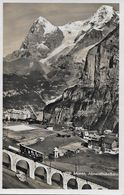 MÜRREN → Allmendhubelbahn, Fotokarte Ca.1930 - BE Berne