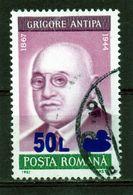 ++  RUMANIA / ROMANIA / ROUMANIE  Año 1998 Yvert Nr.4490  Overprint  Usada - Gebraucht
