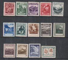 Liechtenstein 1930 Definitives 14v . Mh (=mint,hinged) (38184) - Ongebruikt