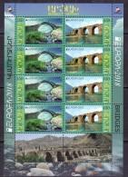 Armenien / Armenie / Armenia / Artsakh / Karabakh 2018, EUROPA CEPT,Bridge Jarvanes XIII C, Karavaz VII C, MS - MNH - Armenië