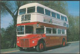 Blackpool Transport AEC-PRV Routemaster Bus No 521 - Transicard Postcard - Buses & Coaches