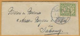 8Nb-987: N° 103: SABANG 3.5.21. 11-12V > X X X   > Sabang - Niederländisch-Indien