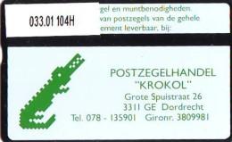 Telefoonkaart  LANDIS&GYR  NEDERLAND * RCZ.033.01  104H *   KROKOL * TELEFONKARTE * ONGEBRUIKT * MINT - Nederland
