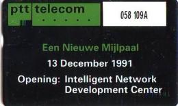 Telefoonkaart  LANDIS&GYR  NEDERLAND * RCZ.058  109a * PTT Telecom 13-12-91 *  TELEFONKARTE * ONGEBRUIKT * MINT - Nederland