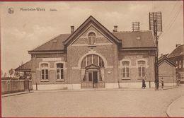 Moerbeke Waes Waas Statie Station Waasland ZELDZAAM (In Zeer Goede Staat) Geanimeerd - Moerbeke-Waas