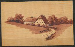 Ansichtskarte   -  Aus Holz Gefertigt  Postfrisch - Bauernhöfe