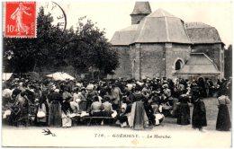 58 GUERIGNY - Le Marché - Guerigny