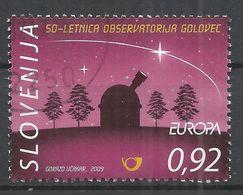 Slovenia 2009. Scott #804 (U) Europa, Intl Year Of Astronomy, Obsevatory * - Slovénie
