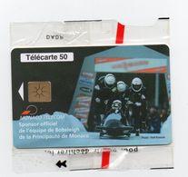 MF 50 --  TELECARTE   PUBLIQUE MONACO  NEUVE SOUS BLISTER - Monaco