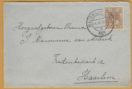 8Nb-985: N° 61: RIJSWIJK(Z.H.) -1.II.10V /4/1921 > Haarlem - Periode 1891-1948 (Wilhelmina)
