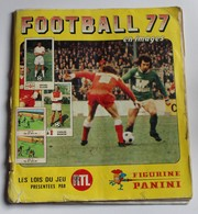 Album Football PANINI 77 Platini Bianchi Tresor Fernandez Olivier Rouyer 1977 - Panini
