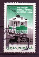 ++  RUMANIA / ROMANIA / ROUMANIE  Año 2001  Yvert Nr.4691  Overprint  Usada - Gebraucht