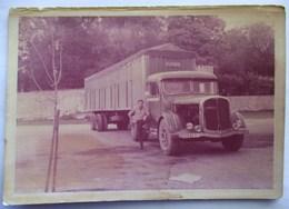 PHOTO CAMION SAURER SEMI REMORQUE TITAN . SURGERES - Automobile