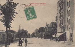 Montreuil : Boulevard De Belfort Et La Mairie - Montreuil