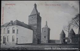 Sombreffe Intérieur Du Château Féodal - Sombreffe