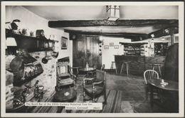The Bevill Bar, Tree Inn, Stratton, Cornwall, 1966 - Hamilton-Fisher RP Postcard - England
