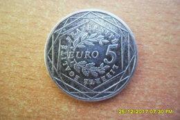 Monnaie De 5 Euros (Argent) De 2008 En TTB+ - France