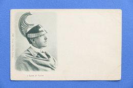Cartolina Personaggi Storici - Conte Di Torino Vittorio Emanuele Di Savoia-Aosta - Cartoline