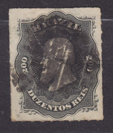 Brazil 1877 Mi. 35      200 R Kaiser Pedro II. - Usados