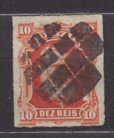 Brazil 1877 Mi. 38      10 R Kaiser Pedro II. - Usados