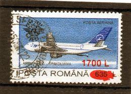 ++  RUMANIA / ROMANIA / ROUMANIE  Año 2000  Yvert Nr.4609  Overprint  Usada - Gebraucht
