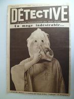 Detective N°27 1929 Mage Indesirable Aleister CROWLEY Amour Venal Prostitution Charron Ardennes USA Bébé Né En Prison - Livres, BD, Revues
