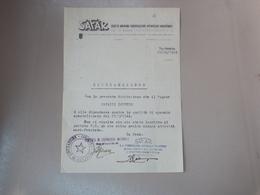 DOCUMENTO C.L.N. COMITATO DI LIBERAZIONE NAZIONALE DI CANNOBIO VERBANO CUSIO OSSOLA VARESE - Vieux Papiers